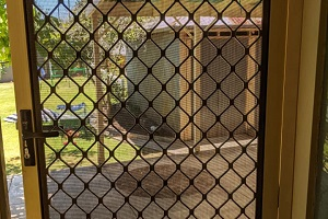 Adelaide fly screen installation